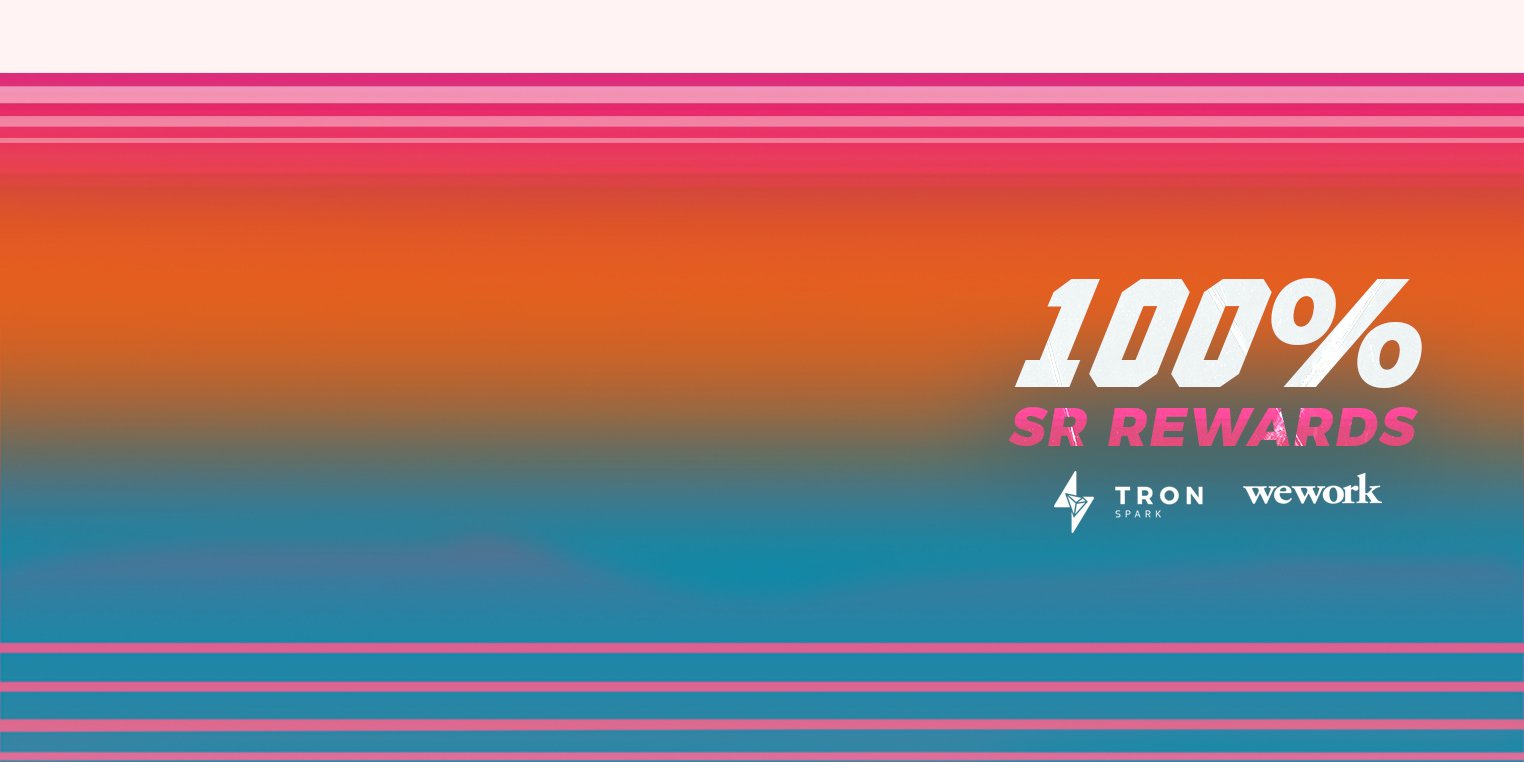 Tron Spark + WeWork Celebrate Miami Beach Meetup with 100% Rewards