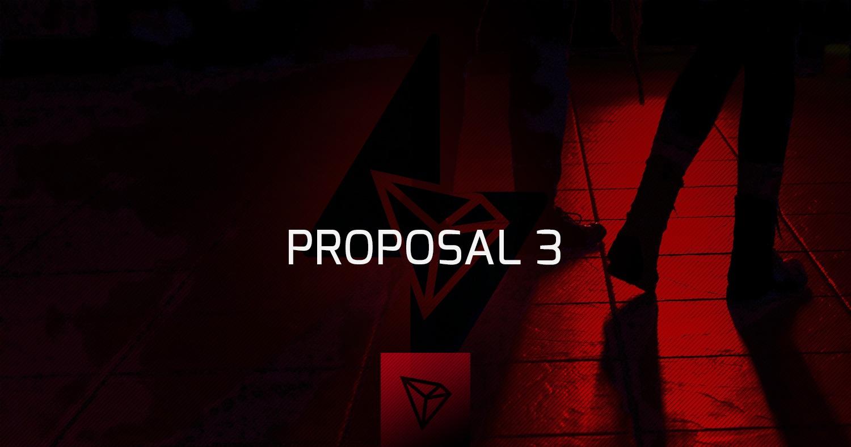Tron Super Representatives Vote on Proposal #3