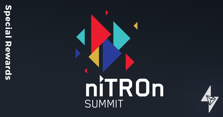 TronSpark is Celebrating niTROn Summit Week with 100% Rewards
