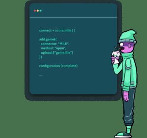 Game Developer By Score Milk Copy