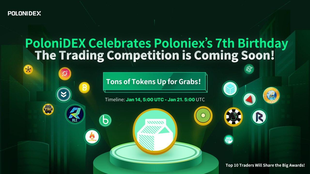 Score Milk Celebrates Poloninex's 7th Anniversary