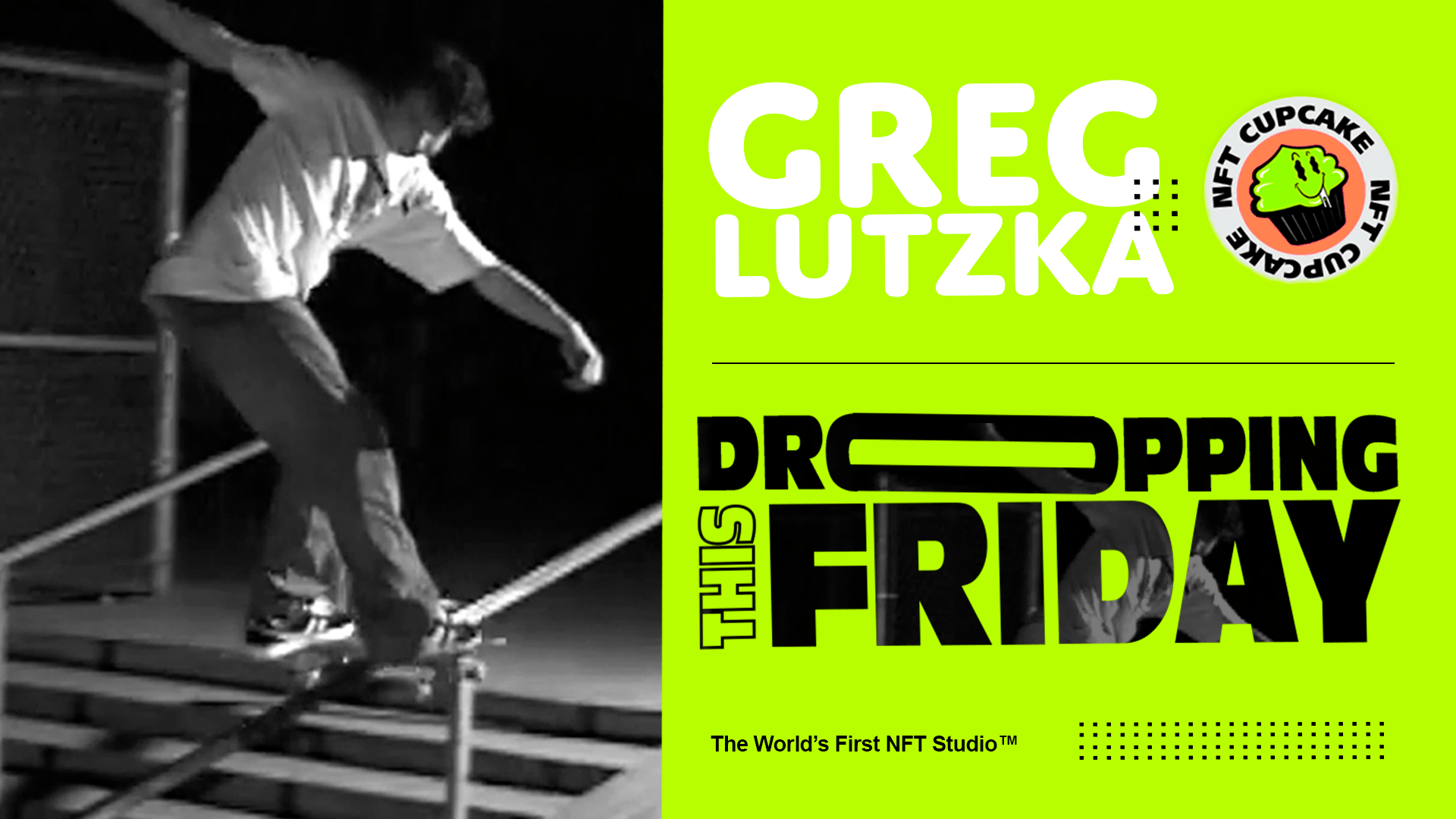 NFT Cupcake: The First Ever Greg Lutzka NFT Launching Tomorrow
