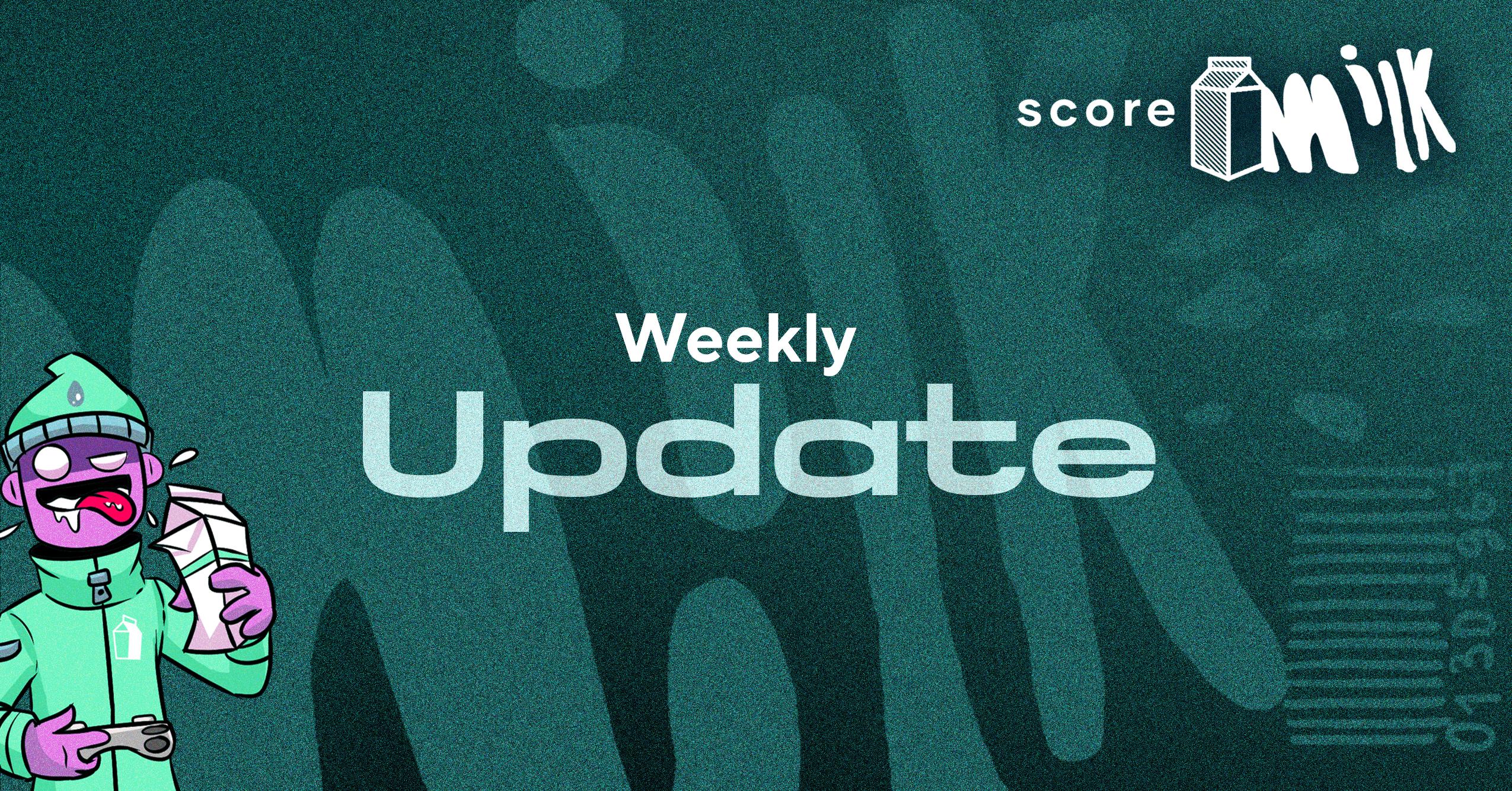 Score Milk Update – August 29, 2021