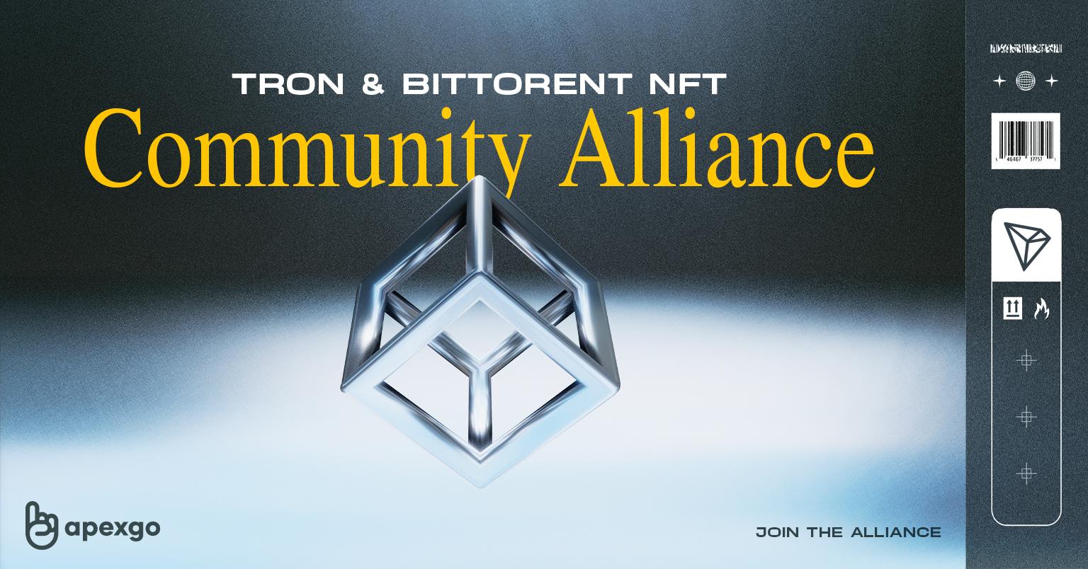 Tron & BitTorrent NFT Alliance Opening Doors